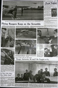 Minneapols Star Tribune Rangers Article circa 1958
