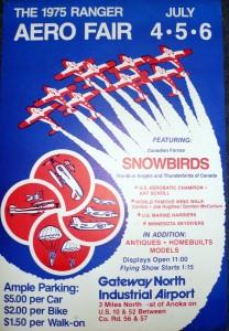 Rangers Poster circa 1975