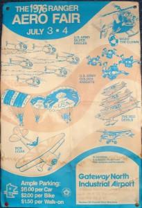 Rangers Poster circa 1976-a