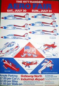 Rangers Poster circa 1977